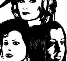 TV Witches Sticker