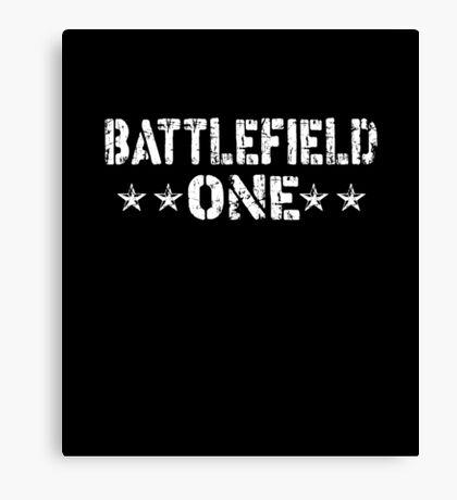 Battlefield One Canvas Print