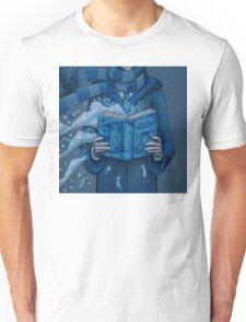 Books magic blue Unisex T-Shirt