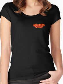 RALLY 1 LAVA  Women's Fitted Scoop T-Shirt