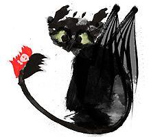 Black Dragon Photographic Print