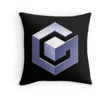 Gamecube Logo Throw Pillow