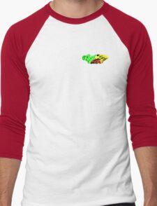 RALLY 1 RASTA  Men's Baseball ¾ T-Shirt