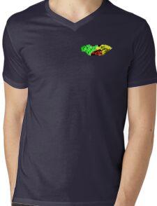 RALLY 1 RASTA  Mens V-Neck T-Shirt