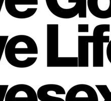 Prince Lovesexy Love Life Gear Sticker