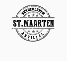 St. Maarten, The Netherlands Antilles Women's Fitted V-Neck T-Shirt