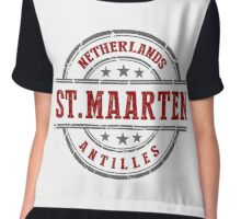 St. Maarten, The Netherlands Antilles Chiffon Top