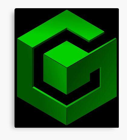 Gamecube Logo Canvas Print
