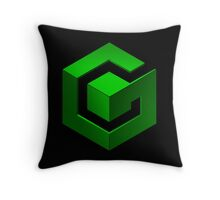Gamecube Logo Throw Pillow