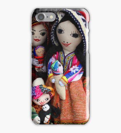 Handmade Dolls at the Market iPhone Case/Skin