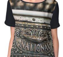 National Cash Chiffon Top