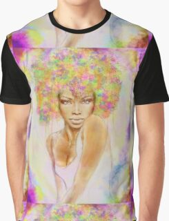 The girl with new hair style Graphic T-Shirt
