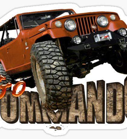 Go Commando Sticker