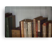 The Bookshelf Canvas Print