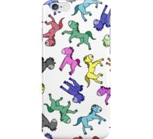 Colourful Cartoon Horse's iPhone Case/Skin
