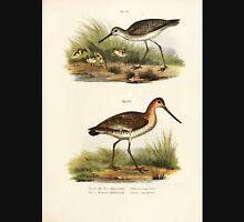 Bilder atlas zur Wissenschaftlich populären Naturgeschichte der Vögel in ihren sämmtlichen Hauptformen Leopold Joseph Fitzinger 1864 120 Unisex T-Shirt