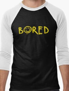 Sherlock - Bored! Men's Baseball ¾ T-Shirt