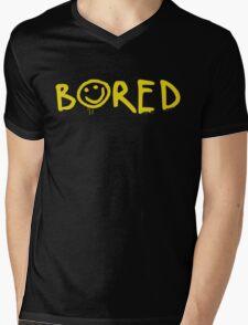 Sherlock - Bored! Mens V-Neck T-Shirt