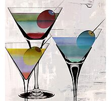 Martini Prism Photographic Print