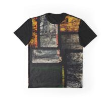 3D Colored Blocks Graphic T-Shirt