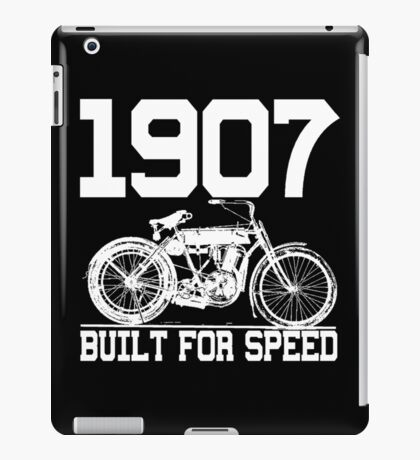 BUILT FOR SPEED-1907 iPad Case/Skin