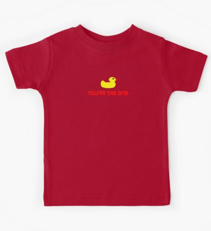 Rubber Ducky You're The One - I Love Duck T-Shirt Kids Tee