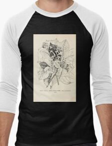 Southern wild flowers and trees together with shrubs vines Alice Lounsberry 1901 136 Large Leaved Storax Men's Baseball ¾ T-Shirt