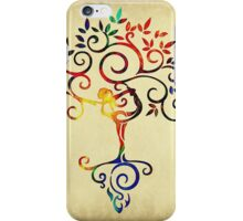 Yoga tree 2 iPhone Case/Skin
