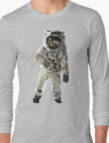 Low Poly Astronaut Long Sleeve T-Shirt
