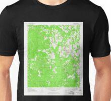 USGS TOPO Map Alabama AL Gordo 304005 1967 24000 Unisex T-Shirt