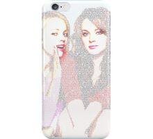 Mean Girls Script iPhone Case/Skin