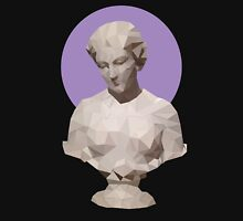 Colored Polygonal Bust Unisex T-Shirt
