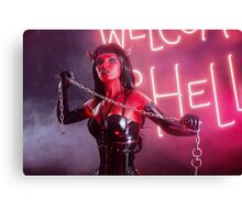 She Devil Chains Canvas Print