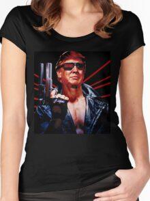 Terminator Trump Women's Fitted Scoop T-Shirt