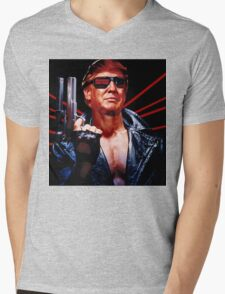 Terminator Trump Mens V-Neck T-Shirt