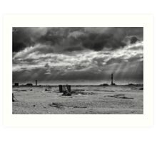 Dungeness Through a Prime Lens 06 Art Print