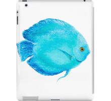 Tropical Turquoise Fish painting iPad Case/Skin