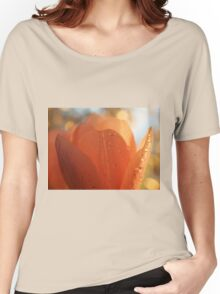 Tulip macro close up Women's Relaxed Fit T-Shirt