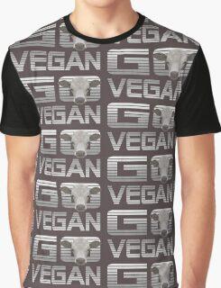 GO VEGAN CALF Graphic T-Shirt