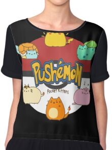 Pushemon Chiffon Top