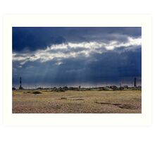 Dungeness Through a Prime Lens 04 Art Print