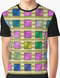 color and pattern flash Graphic T-Shirt