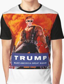 Duke Nukem Trump Graphic T-Shirt