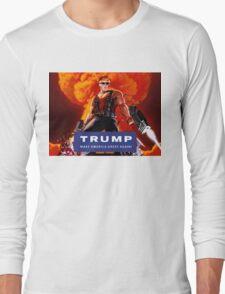 Duke Nukem Trump Long Sleeve T-Shirt