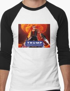 Duke Nukem Trump Men's Baseball ¾ T-Shirt