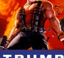 Duke Nukem Trump Sticker