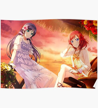 Love Live! School Idol Project - Summer Vacation Poster