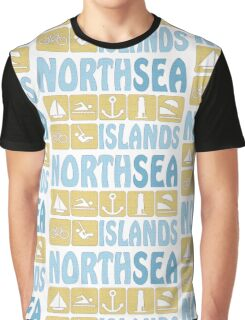 NORTH SEA ISLAND Graphic T-Shirt