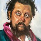Mussorgsky after Ilja Repin by Hidemi Tada