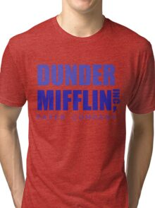 Dunder Mifflin inc. Tri-blend T-Shirt